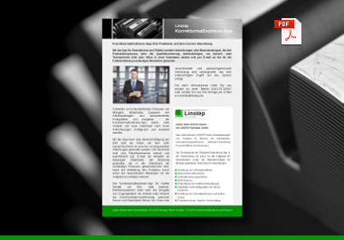 Linstep Korrektur-App für Qualitätssicherung