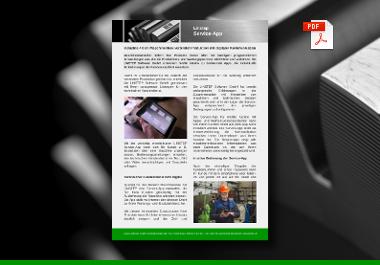 Linstep Service App Maschinenwartung