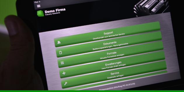 App für Kundenservice erleichert Wartung von Maschinen und Geräten