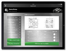 Kundenservice App Wartungsanleitung Optionen