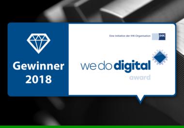 Service-App gewinnt WeDoDigital Award 2018