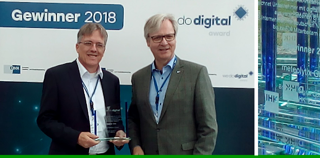 We Do Digital-Award 2018 der DIHK für Linstep Software GmbH
