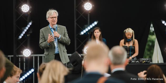 Martin Wansleben beim We Do Digital-Award 2018 der DIHK