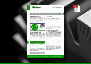 Linstep Checklisten-App