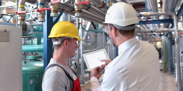 Industrie 4.0 App zur Kontrolle von Maschinen