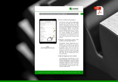 Checklisten-App zur Lebenmittelkontrolle