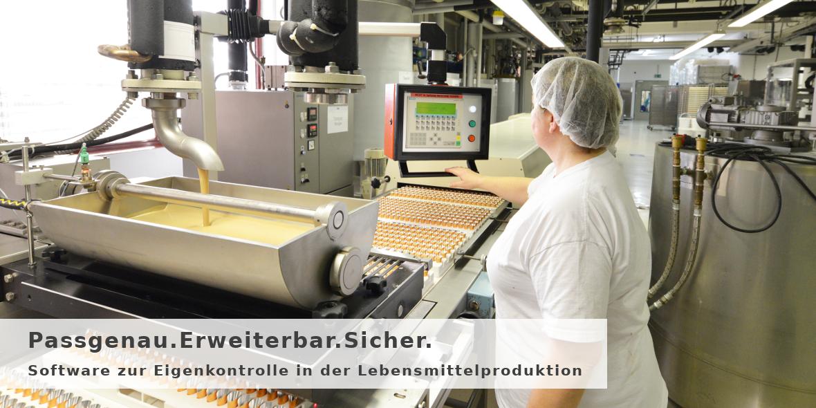 Software zur Eigenkontrolle in der Lebensmittelproduktion nach HACCP