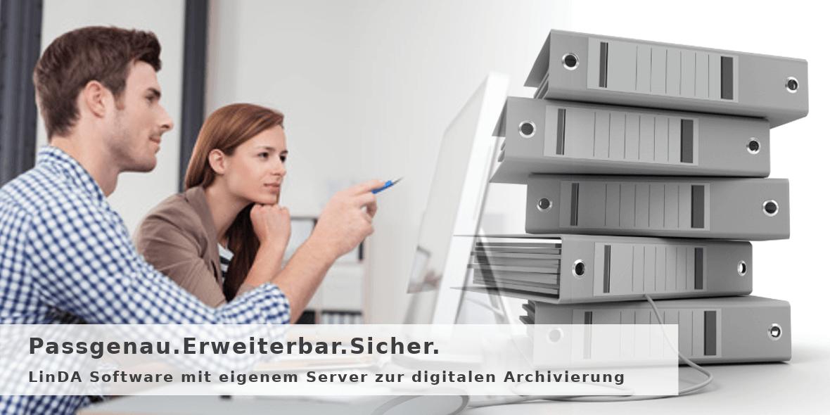 Dokumente digital verwalten und archivieren