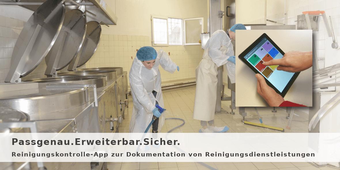 Reinigungskontrolle-App für HACCP