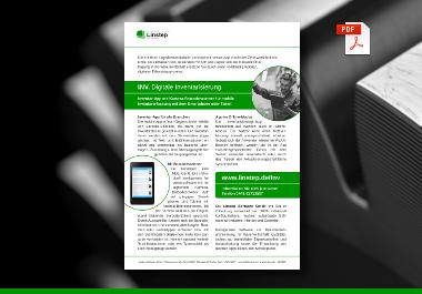 Linstep Inventarisierungs-App mit integriertem Kamera-Barcodescanner